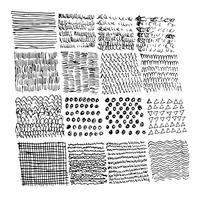 Linha de esboço de doodle desenhado de mão vetor