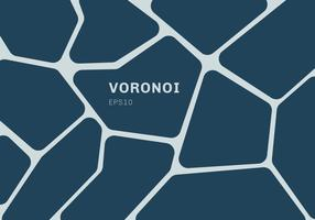 Obscuridade abstrata - fundo azul do diagrama do voronoi. Mosaico geométrico pano de fundo e papel de parede. vetor