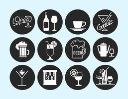 Bebidas e Bar Vector Pack