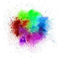 Abstrato colorido. Splash aquarela fundo illus vetor