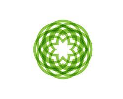 logotipo e símbolos do círculo Vector