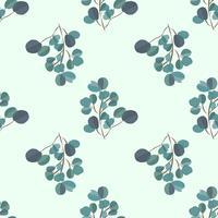 Fundo moderno brilhante com folhas da selva. Padrão exótico com folhas de palmeira. Ilustração vetorial