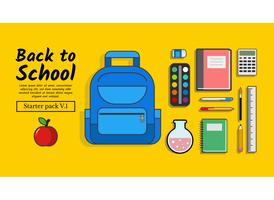 De volta à escola Starter Pack Vol. 1