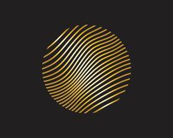 Cartaz de fluxo colorido moderno. Forma líquida da onda no fundo azul da cor. Design de arte para o seu projeto de design. Ilustração vetorial