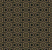 abstrato sem costura ornamento padrão vector ilustração woth cor de ouro