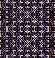 Padrão de ornamento sem costura árabe. Padrão decorativo ornamental vetor
