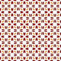 Sem costura padrão floral abstrato. estilo moderno de simetria vetor