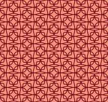 Abstrato sem costura padrão geométrico com linhas, ornamentos orientais padrões