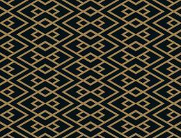 Padrão sem emenda de vetor. Textura elegante moderna. Tira geométrica vetor