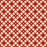 Vector floral sem costura padrão, vector repetindo textura backgro