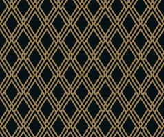 Padrão sem emenda de vetor. Textura elegante moderna. Repetindo azulejos geométricos de elementos listrados vetor