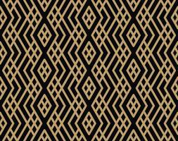 padrão geométrico sem costura com linha, estilo minimalista moderno pa vetor