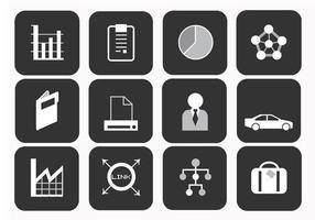 Pacote de ícones do vetor de negócios