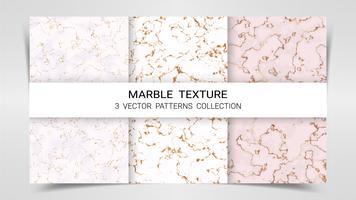 Planos de fundo e texturas de mármore Premium conjunto modelo de coleção de padrões.