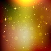 Brilho estrela bokeh fundo vetor