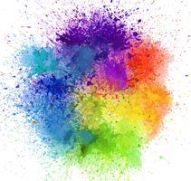 fundo de cor de água vetor