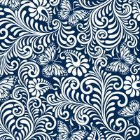 Webseamless padrão floral fundo. Fundo de estilo de luxo. ilustração vetorial vetor