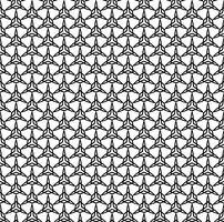 Linha sem costura padrão decoração design de fundo abstrato vector