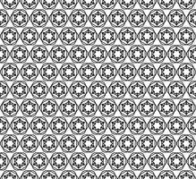 Estrelas sem costura deco art padrão vector