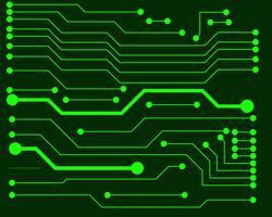 Ilustração em vetor de placa de circuito EPS10