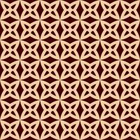 Padrão de linha geométrica sem emenda. Design gráfico contemporâneo. Textura linear sem fim para papel de parede, preenchimentos de padrão, fundo de linha de página da web. Ornamento geométrico marrom dourado monocromático
