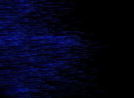 Linhas azuis da velocidade abstrata do conection dos dados da tecnologia no fundo escuro. vetor