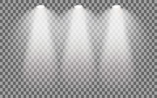 Spotlight iluminado para palco