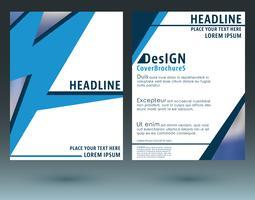 Modelo de brochuras de capa