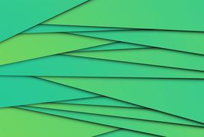 Papéis abstratos coloridos, ilustração vetorial