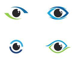 Logotipo do olho vetor