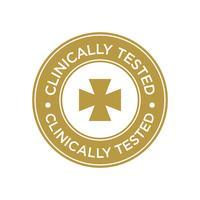 Ícone Clinicamente testado