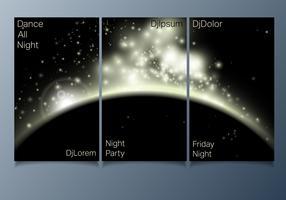 Folheto de festa do clube