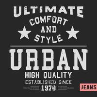 Selo urbano vintage