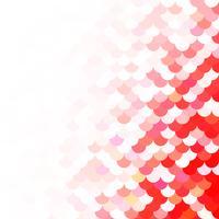 Padrão de telhas vermelhas, modelos de Design criativo