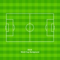 Campo de futebol ou campo de jogos de futebol vetor