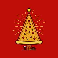 Vetor de pizza