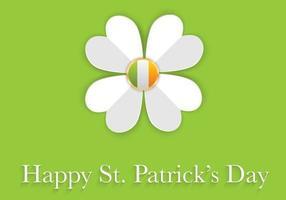 Fundo do vetor do dia do St. Patrick feliz