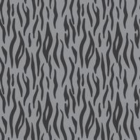 Animal print abstrata. Padrão de vetor sem costura com listras de tigre. Têxtil repetindo fundo de pele de tigre