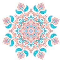 Elemento decorativo Oriental. Islã, árabe, indiano, motivos otomano.