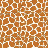 Padrão sem emenda de vetor com textura de pele de girafa. Repetindo o fundo do girafa para o design têxtil, papel de embrulho, scrapbooking. Animal impressão têxtil.