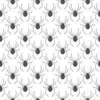 Padrão sem emenda de vetor de aranhas para design têxtil, papel de parede, papel de embrulho