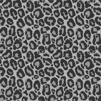 Padrão sem emenda de vetor com textura de pele de leopardo. Repetindo o pano de fundo de pele de leopardo