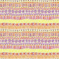 Teste padrão festivo tribal étnico para a matéria têxtil, papel de parede, scrapbooking. Padrão sem emenda colorido geométrico abstrato. Teste padrão festivo tribal étnico para a matéria têxtil, papel de parede, scrapbooking. Padrão sem emenda colorido ge vetor
