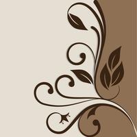 Vector design de convite - estilo vintage. Pode ser usado como um cartão postal, convite, mensagem