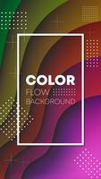 design de papel de parede de fundo gradiente de cor
