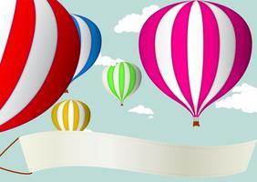 Balão de ar quente vetor