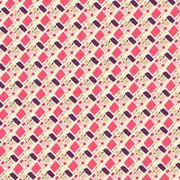 Geométrico abstrato sem costura padrão vetor