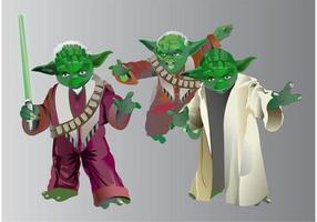 Yoda de Star Wars vetor
