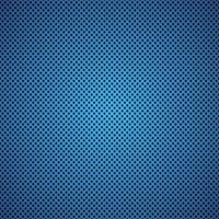 ilustração em vetor de fundo de fibra de carbono azul