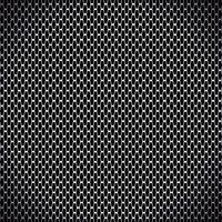 ilustração vetorial de fundo sem emenda de fibra de carbono preto vetor